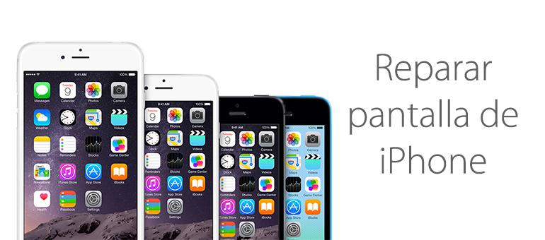 En iFixRapid reparamos la pantalla de iPhone 6 y iPhone 6 Plus