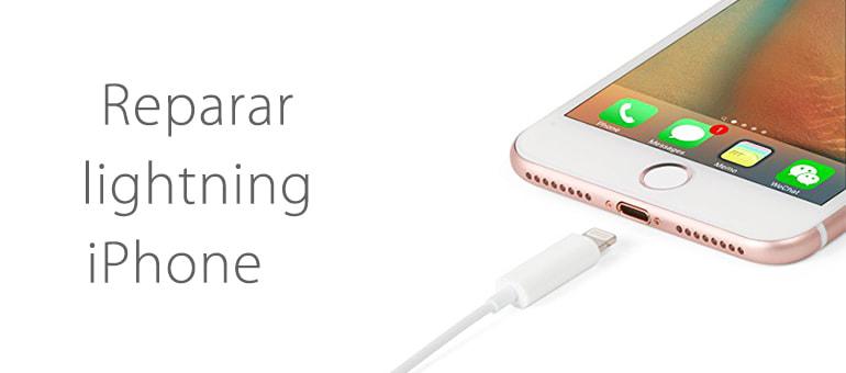 Reparar iPhone 7 si no carga al conectarlo