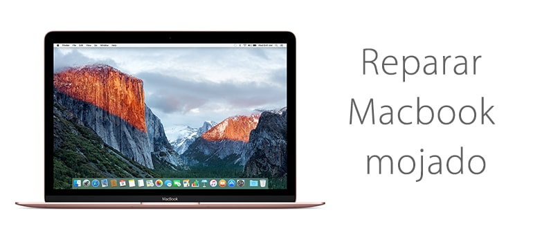 Servicio Técnico para Macbook mojado que no enciende