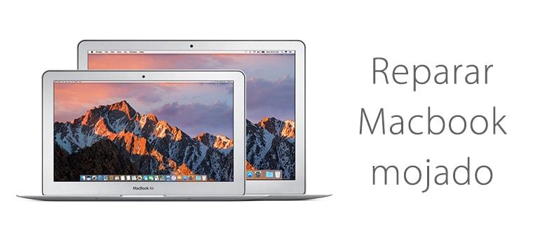 Reparar Macbook que no enciende porque se ha mojado