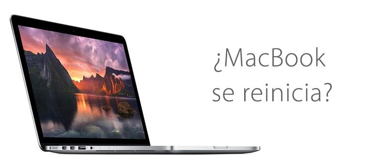 Reparar MacBook si se reinicia continuamente