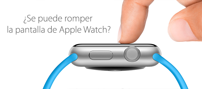 ¿Reparar la pantalla de Apple Watch?