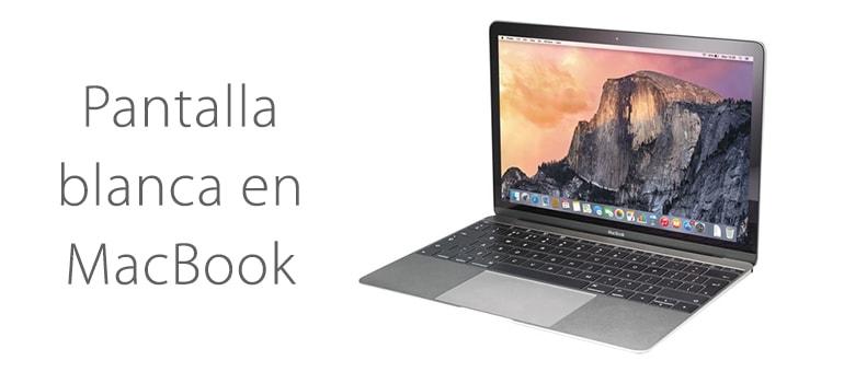 Reparar MacBook si se queda en blanco ¿Tiene solución?