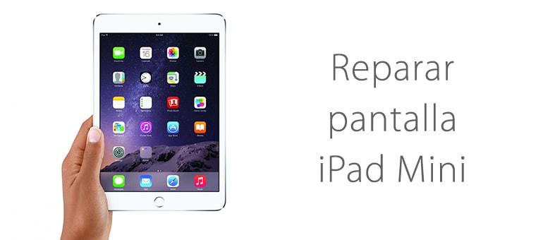 Cambiar cristal roto de iPad Mini 4 en Madrid