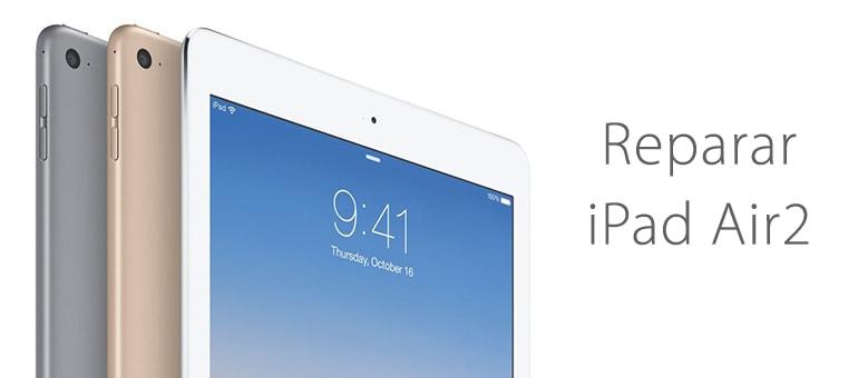 Cambiar pantalla rota de iPad Air 2 en Servicio Técnico Apple