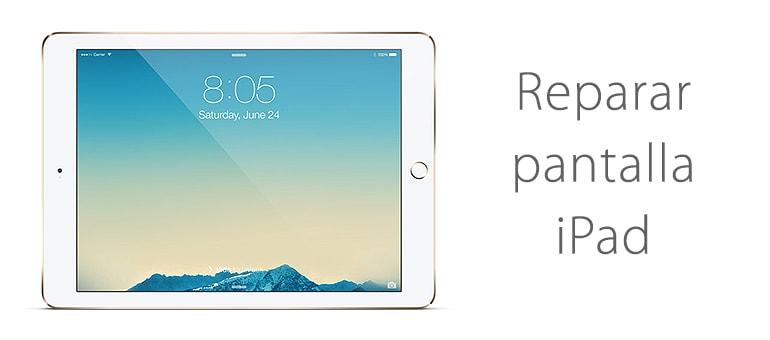 Reparar la pantalla de iPad Air si se mueve sola
