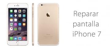 Cambio de pantalla de iPhone 7 en Madrid