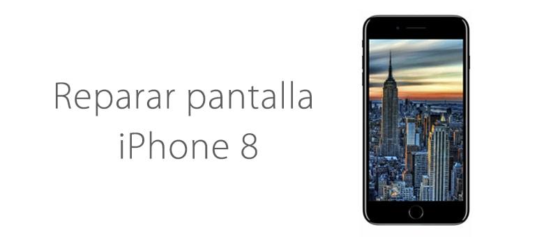 Cambiar pantalla rota iPhone 8 en iFixRapid