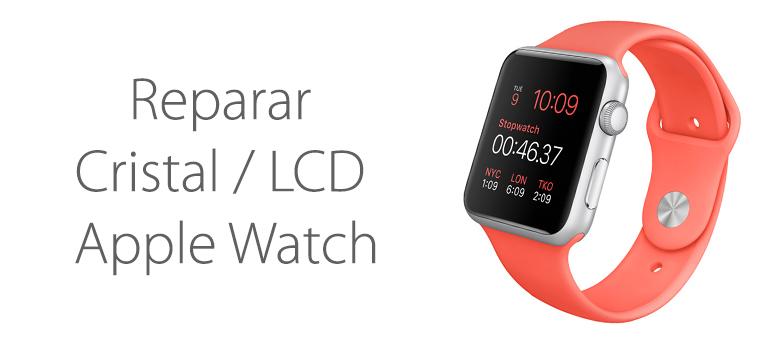 Reparar la pantalla rota de Apple Watch