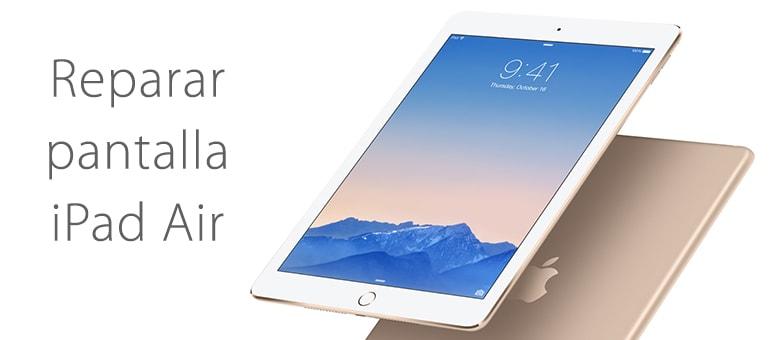 Reparar cristal roto de iPad Air si no funciona