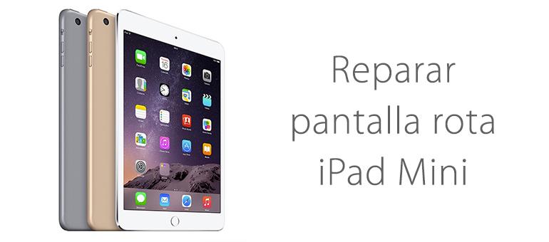Reparar el cristal roto de iPad Mini en iFixRapid