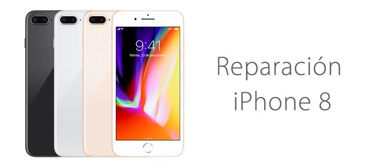 Cambiar el cristal roto de la pantalla de iPhone 8 en iFixRapid