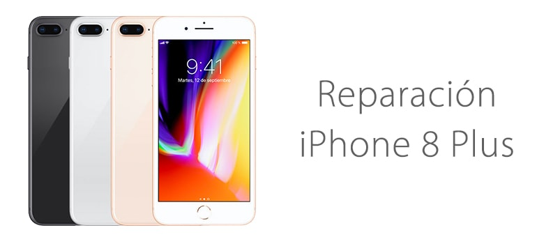 Reparar pantalla rota iPhone 8 Plus en iFixRapid Servicio Técnico Apple