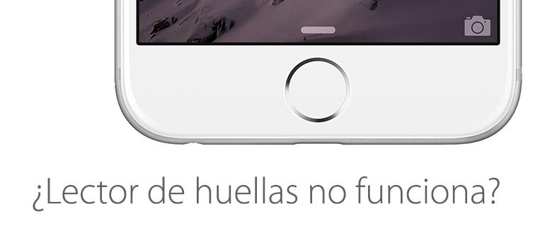 El sensor de huella de iPhone 6 se puede reparar