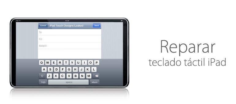 ¿Cansado del teclado táctil de tu iPad?