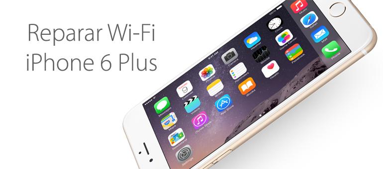 WiFi de iPhone 6 Plus no funciona