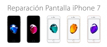 reparar pantalla rota iphone 7 ifixrapid