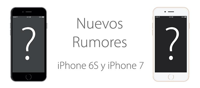 Rumores sobre iPhone 6 y iPhone 7