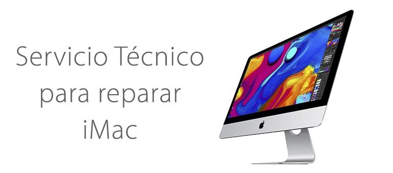 Reparar iMac colgado en la manzana y no avanza