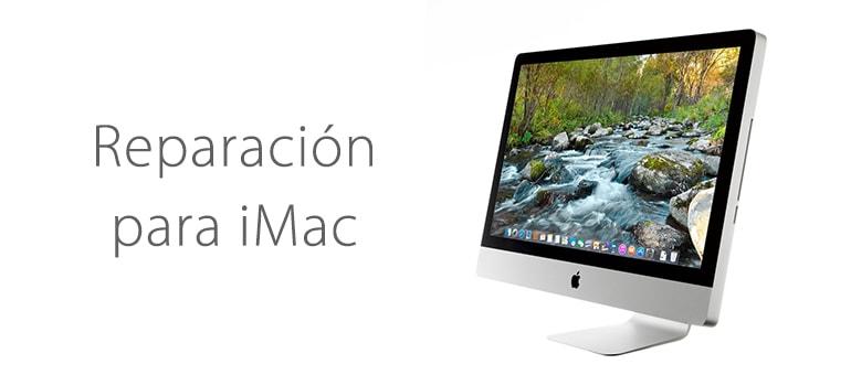 Solución para lineas de colores en la pantalla de iMac