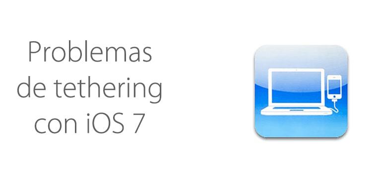 Aparecen problemas con el tethering en iOS 7.1