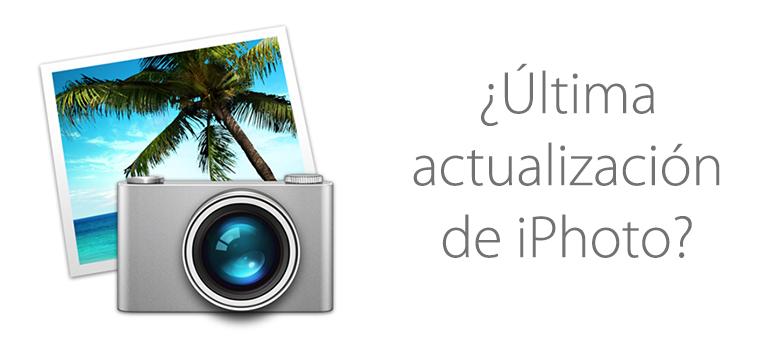 iPhoto tiene los días contados