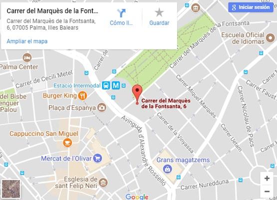 Ver localización en Google Maps