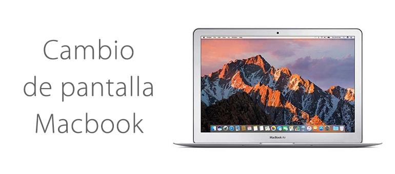 Solución para pantalla de Macbook Air rota