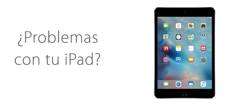 Solucionar problemas con los botones de tu iPad