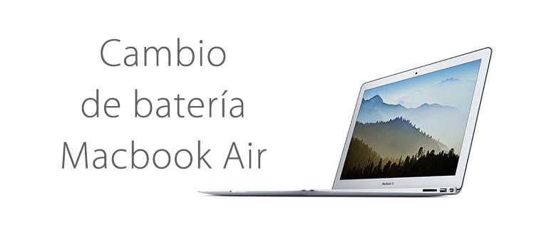 Cómo saber si es necesario cambiar la batería de Macbook Air