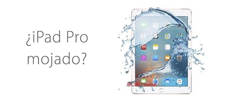 Descubre que hacer si se moja tu iPad Pro