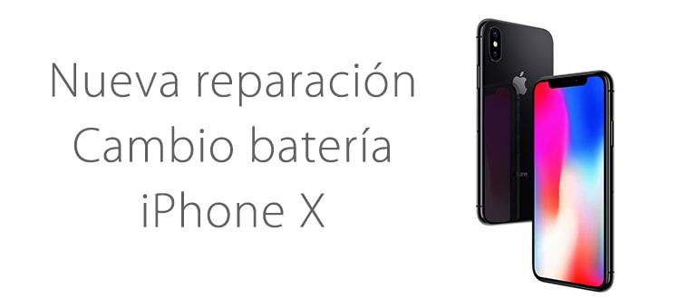 Nueva reparación: cambiamos la batería de tu iPhone X