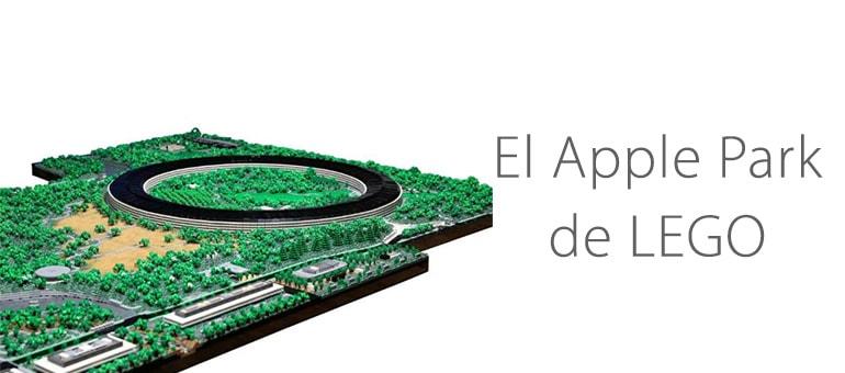 El Apple Park de LEGO