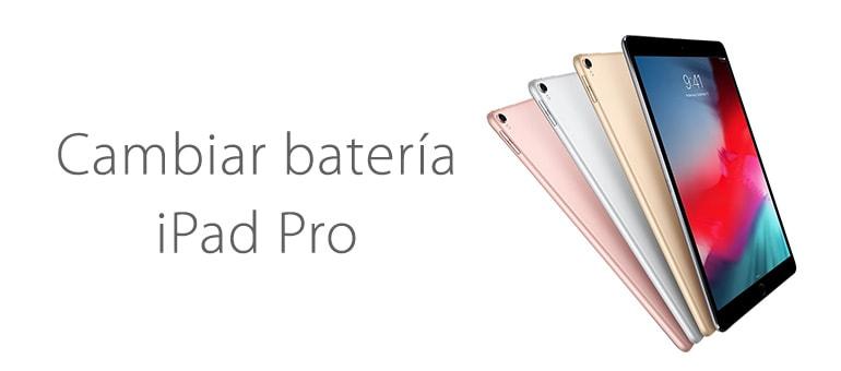 Cambiar la batería de iPad Pro