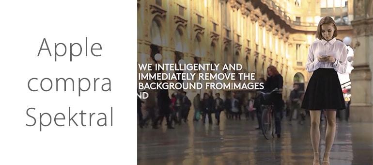Apple se hace con Spektral expertos en efectos visuales