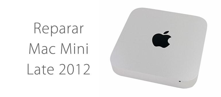Repara tu Mac Mini Late 2012 en iFixRapid