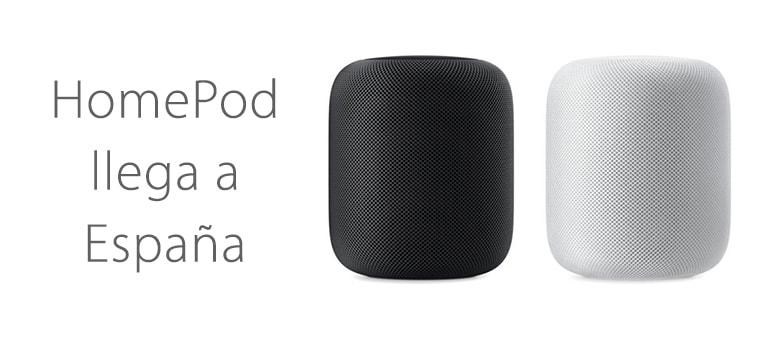 HomePod de Apple llega a España