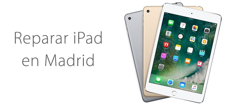 Repara tu iPad en Madrid con iFixRapid