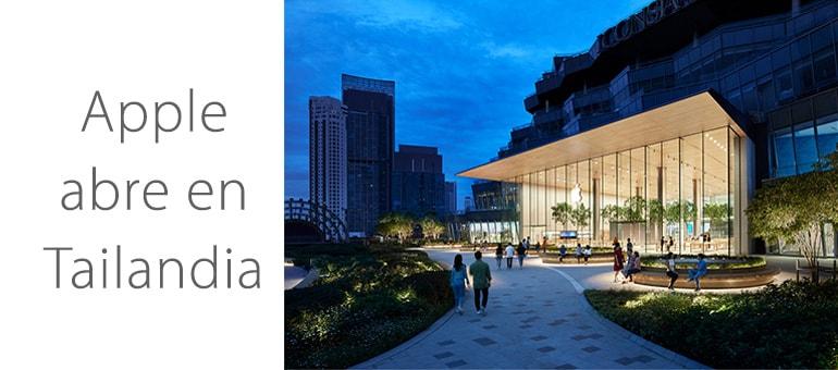 Apple estrena tienda en Tailandia