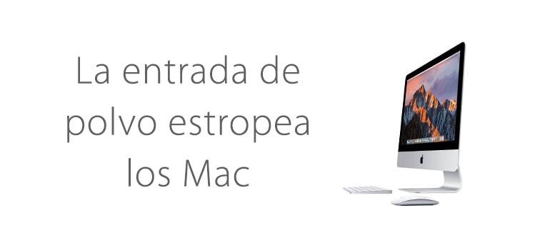 Demandan a Apple por la entrada de polvo en Macs