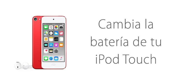 Cambia la batería de tu iPod Touch