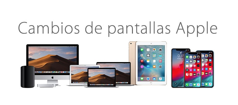 Cambia la pantalla de tu dispositivo Apple