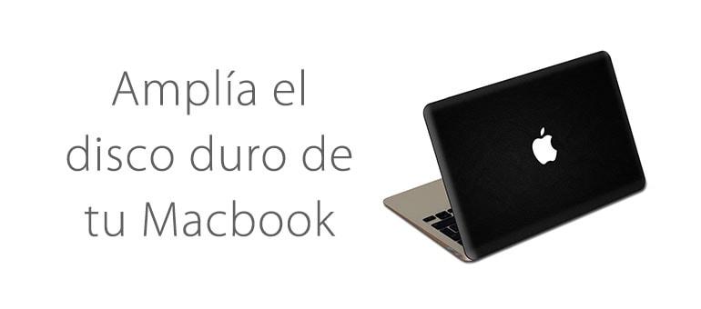Aumenta el espacio de almacenamiento de tu Macbook