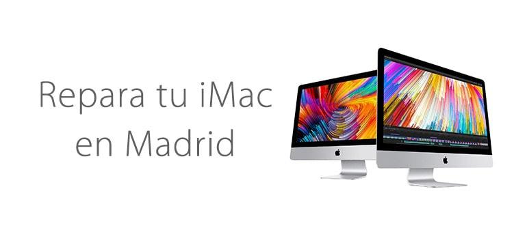 Repara la pantalla de tu iMac en Madrid