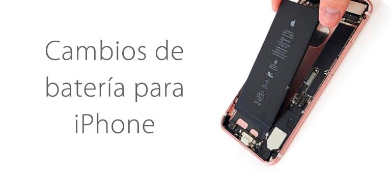 ¿Dónde cambiar la batería del iPhone en Madrid?