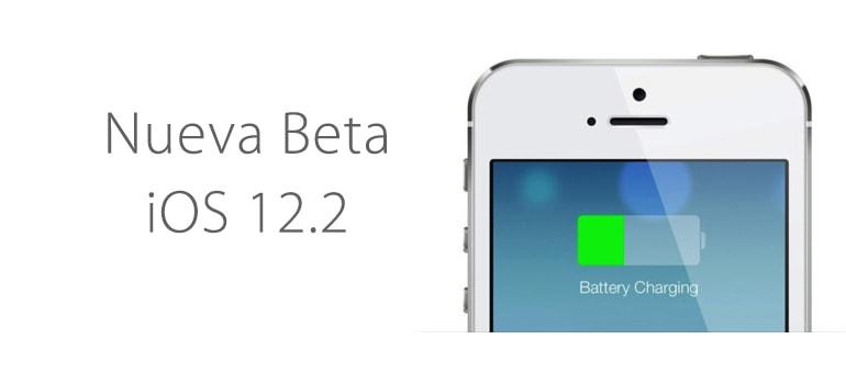Nueva versión beta iOS 12.2 con mejoras y errores interesantes