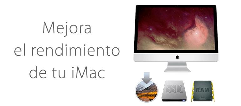 Cómo aumentar memoria de iMac.