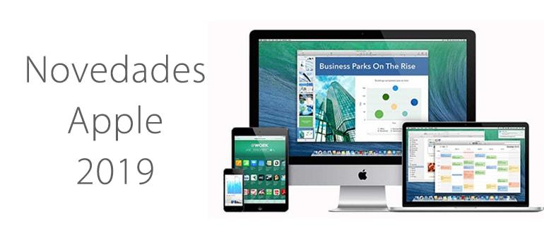 Nuevos productos Apple para 2019