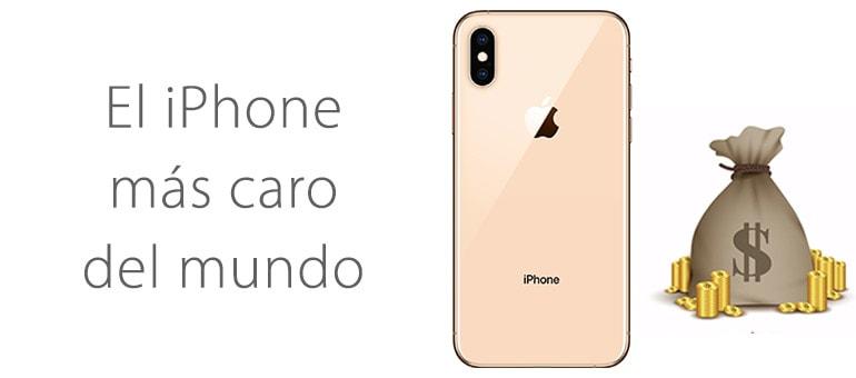 ¡Aquí tenéis el iPhone más caro del mundo!