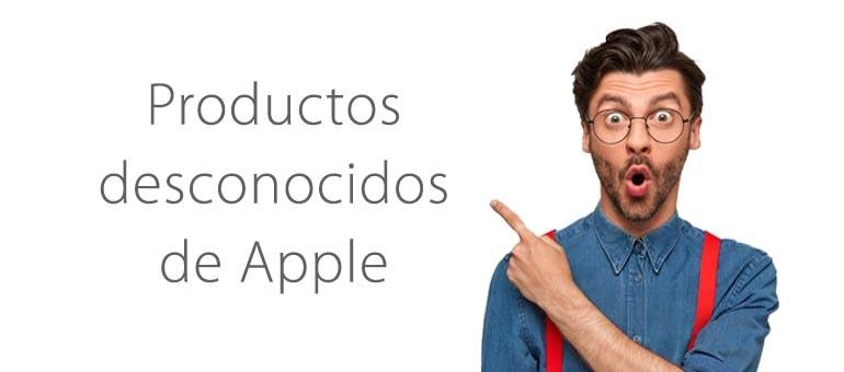 6 productos de Apple que no sabías que existieron